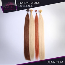 Good Feedback U-Tip Full And Thick 100% Raw Keratin Hair Extension Double Drown 1 G