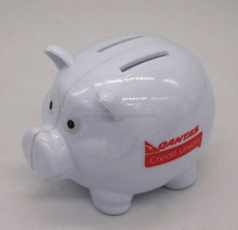 wholesale custom personalized plastic coin bank , money box,piggy bank