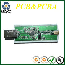 Montaje de pcb de usb tv digital receptor/caja/sintonizador del palillo dvb-t <span class=keywords><strong>dongle</strong></span>
