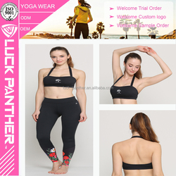 Factory OEM dri fit, fitness women sexy yoga tube top