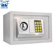 2018 high quality hotel safe safety deposit mini box with electrical password key locks