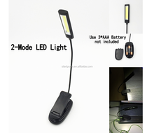 cob work light USB charge student portable small LED book light for promotion