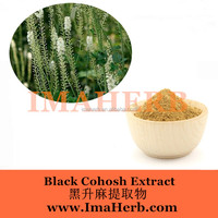 Factory supply black cohosh p.e.