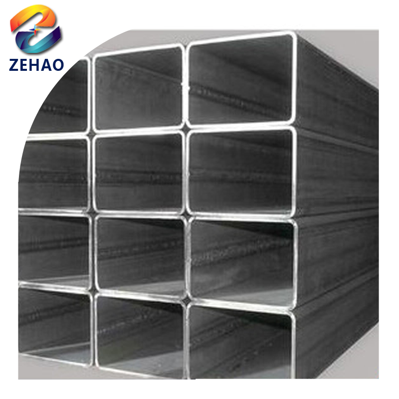 s235jr pre / hot dipped galvanized welded rectangular / square steel pipe/<strong>tube</strong> , pre galvanized rectangular <strong>tube</strong>