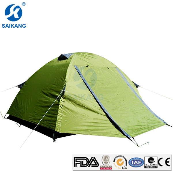 2016 New Style Double Layer Waterproof Camping Tent