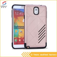 High quality tpu pc hard case for samsung galaxy note3 case