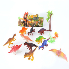 multicolor plastic dinosaur kids toys with factory price
