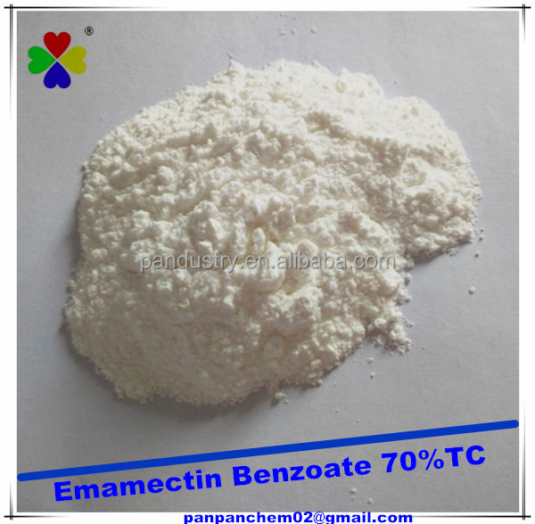 70%tc 30%wdg 5%wdg 5%sg Emamectin Benzoate Bio Insecticide Emamectin Benzoate in Agriculture