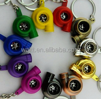 Turbo Keychains, Turbo Keyring, Auto Parts Keychains