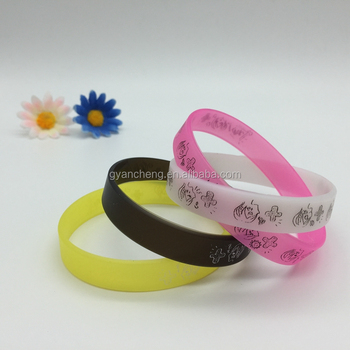 Unisex,Men's,Children's,Women's Gender and Silicone Jewelry Main Material silicon bracelet