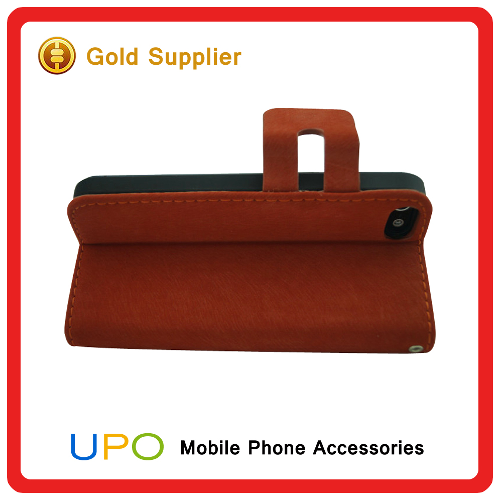 [UPO] Wholesale High Quality Mobile Case for iPhone 5s Leather Case, for Apple Iphone 5 Phone Case