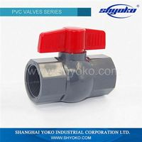 Wholesale Customized Good Quality Plastic pvc ball 1.5 inch water valve