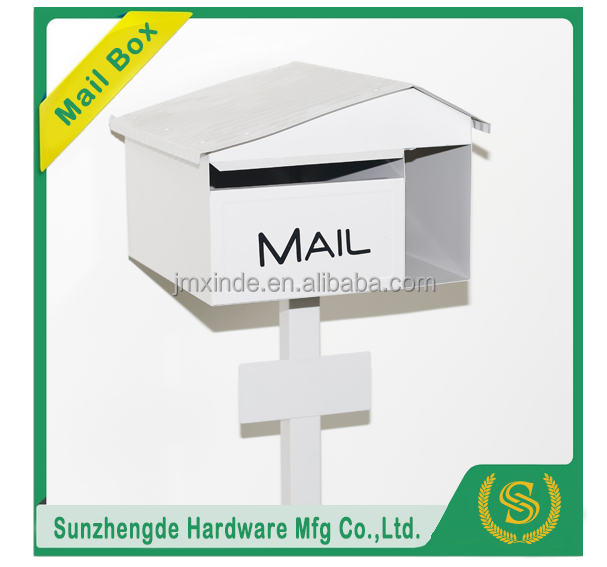 Free Standing Metal Mailboxs & Cast Iron Letter Box SMB-043