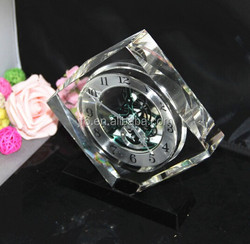 Artistic Crystal Table Clocks antique table clock
