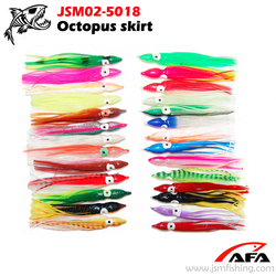 Wholesale soft plastic octopus squid skirts fishing lures