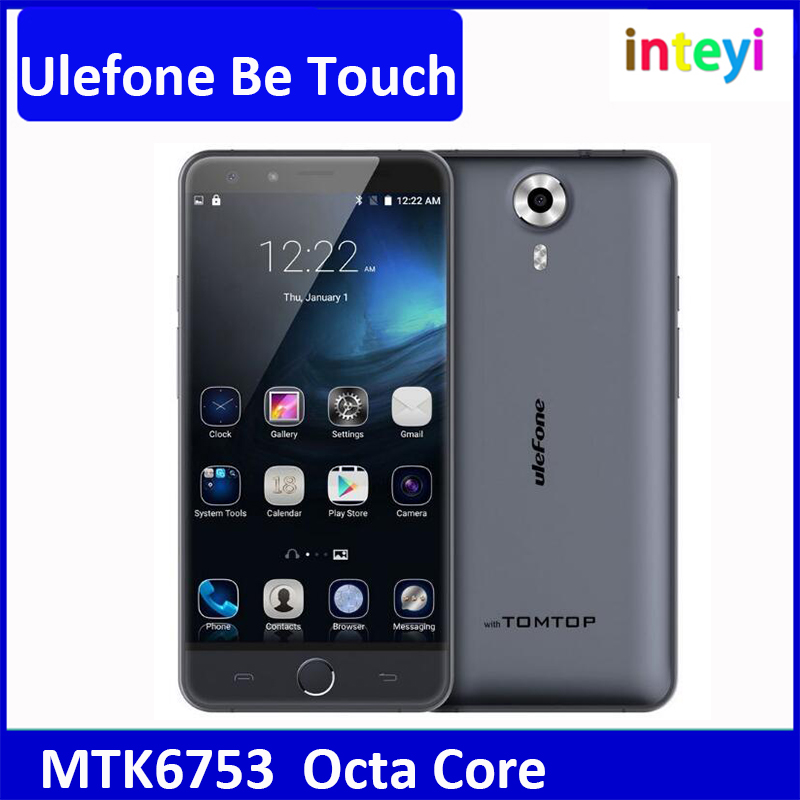 "Ulefone Be Touch 3 Android 5.1 4G LTE Mobile Phone Dual SIM MTK6753 Octa Core 3GB/16GB 13MP 1920*1080 5.5"" Touch ID Dual SIM"