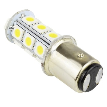 1156/1157 BA15S 18 SMD 5050 LED Bulb For Car Turn Signal Parking Backup Light Pure White P21W Replacement Lamp