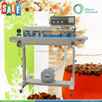 High quality CE approved OEM automatic continuous sealer/band sealing machine with counter