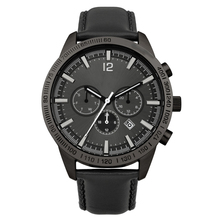 High quality luxury private label chronograph time service international watch for men