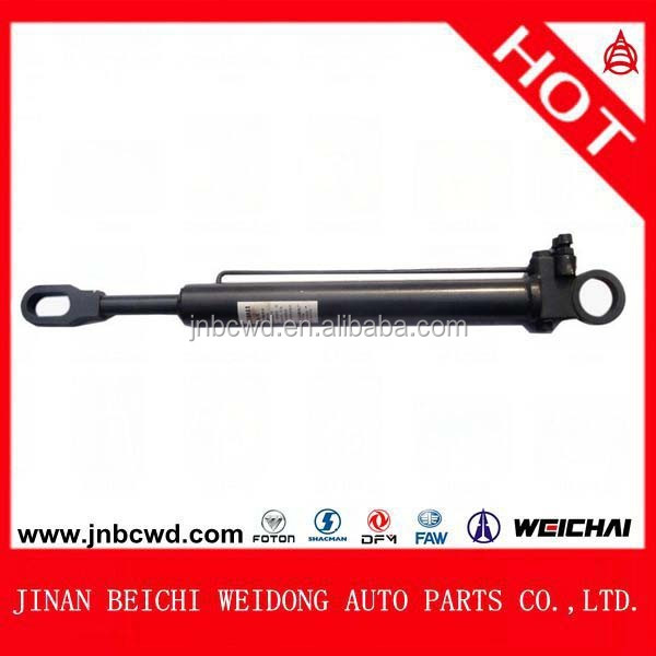 cab lifting hydraulic cylinder, Short lifting cylinder for Beiben heavy truck