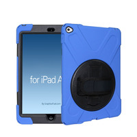 Full protective Shockproof TPU case for ipad air 2 case with handset