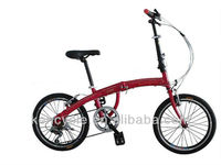 16 inch frame alloy rim comfort&fashion folding bicycle/ladies folding bike/women bike SY-FB1612