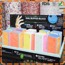 Foam nail file china emery board wholesale 80/80 nail file wholesale manicure tools (as seen on tv)