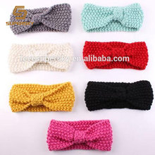 M305 New knitted baby ear warmer headband for baby