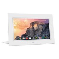 10.1 inch LCD display digital photo frame A102W white