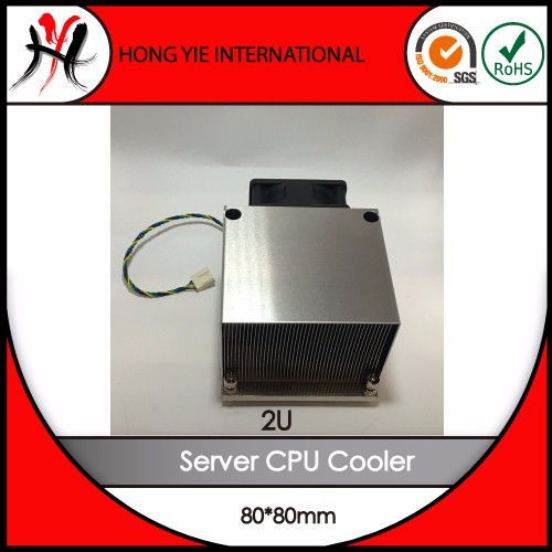 Iso Certified Company Heat Sink High Power Extrude Cooler Fan