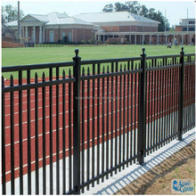 Fusion ornamental cheap wrought iron fence