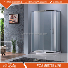 Factory Price Elegant Top Quality Newest Design 6Mm Round Shower Enclosure With Sliding Door
