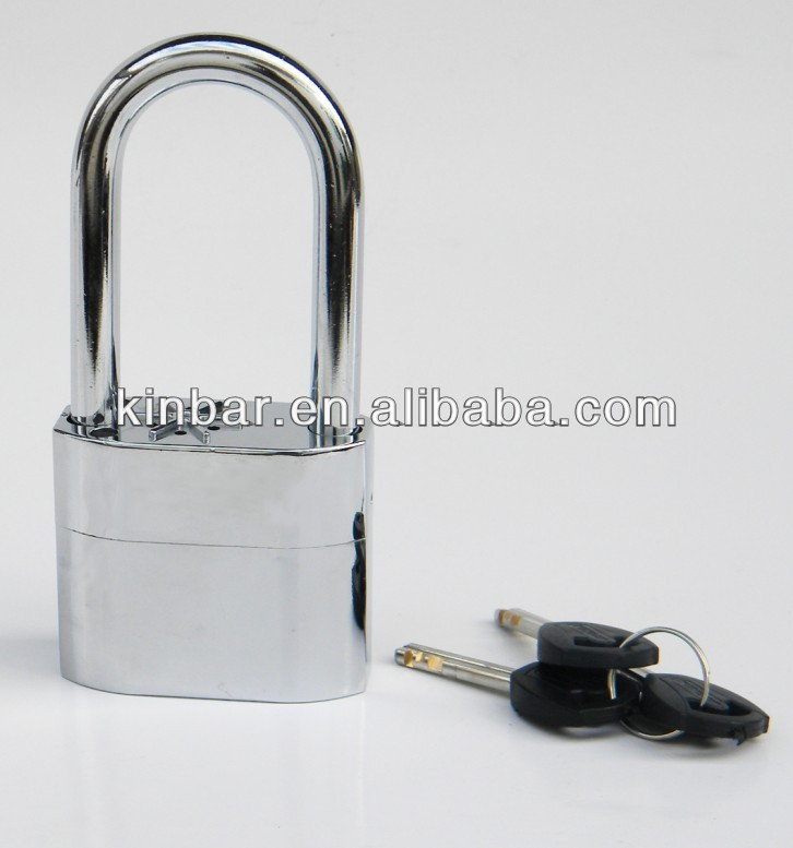 Siren padlock with CE and RoHS