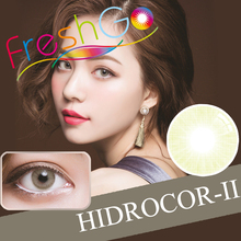 6 Colors Available Hidrocor II Wholesale Colored Contacts Natural Colors Ocre Mel Quartzo Color Contact Lenses