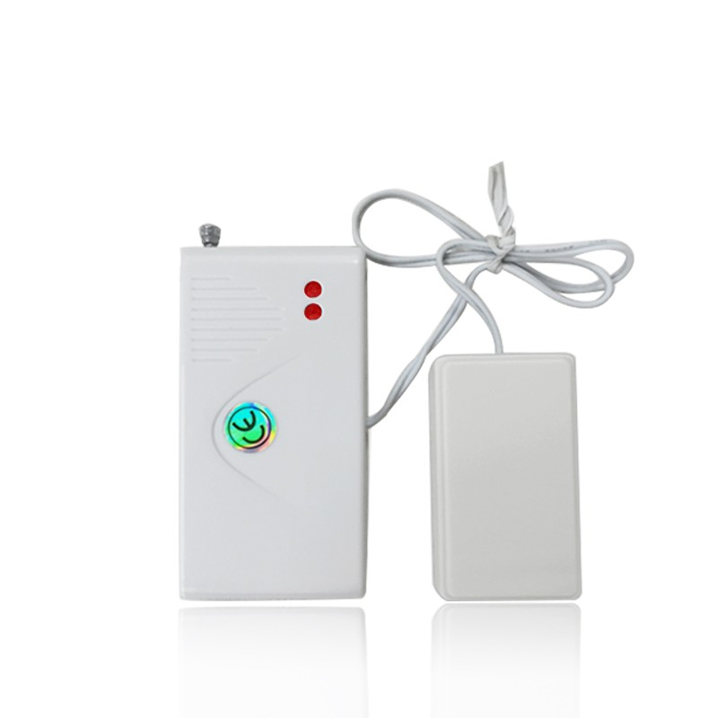 433MHz wired water leak sensor alarm detector work with GSM burglar smart alarm