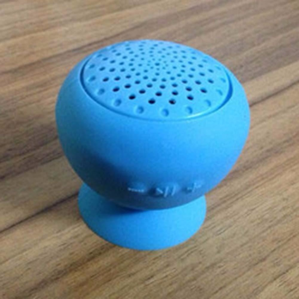 Mini Portable Shower BT Speaker With Sucker Support Water Resistant Audio