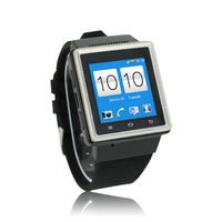 High quality 3g gsm wcdma watch android wrist phone smart phone mobile