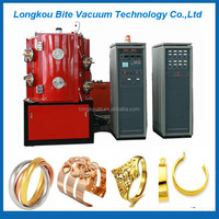 jewelry 24k gold pvd coating machine/gold plating for imitation gold jewelry
