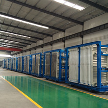 precast lightweight eps cement solar wall panel production line from Shandong