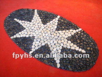 pebble stone for kitchen mat
