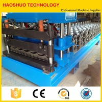 Corrugated automatic used metal roof panel roll forming machine