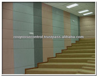 Acoustic wall for Lecturer Hall