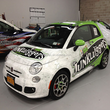 durable full colored quarter and half wraps custom car graphics wraps printing