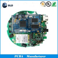 OEM 3D printer controller motherboard, 4 layer PCB circuit board, PCB manufacturer in China