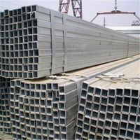 Mild steel pre-galvanized square pipe/tube export to middle east