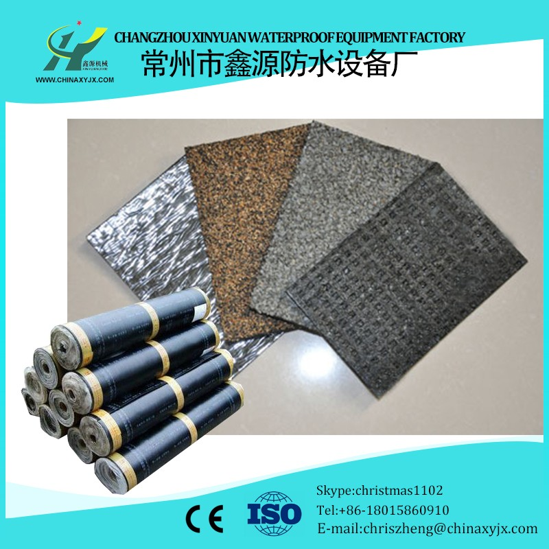 SBS Elastomeric Modified Bitumen Waterproof Membrane