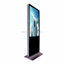 2 year warranty ad 47 inch LED lcd digital banner standing screen