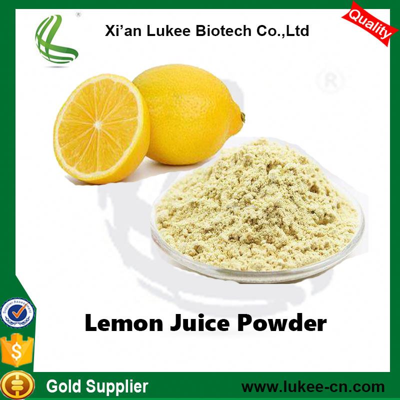 Pure Natural organic freeze dried lemon powder/lemon juice powder