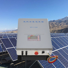 Rated voltage 600v DC/AC Inverters high frequency MPPT solar inverter for 11hp pump