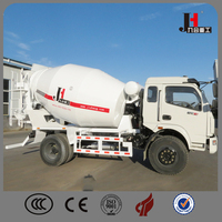 High loading ability three dimensional double helix mixing blade concrete mixer truck for sale